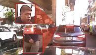 Aprovechan tráfico en Periférico para asaltar a automovilistas (VIDEO)
