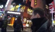 Influencer salva a joven de un acosador mientras hacía transmisión en vivo (VIDEO)