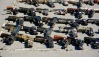 Violencia bajará cuando dejen de pasar armas a México: Huett López