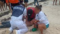 Rescatan a 28 personas de embarcaciones con fallas en Isla Mujeres