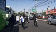 Alumnos de CCH Sur y Oriente entregan otro pliego petitorio en Rectoría