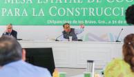Astudillo encabeza Mesa Estatal de Coordinación para la Construcción de la Paz