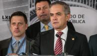 """Propuesta de AMLO para reorientar recursos """"choca"""" con la ley: Mancera"""