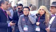 Critican en redes trabajo de 5 periodistas que cubren la mañanera