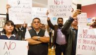 Sindicatos exigen pago de prestaciones y toman sedes del INBA