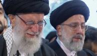 Ayatolá Jamenei, líder Supremo de Irán, llora en funeral de Soleimani