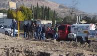 Detectan a grupo que roba gas y que amenaza a distribuidores en Apaxco