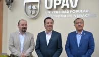 Cuitláhuac convierte residencia oficial de gobernadores en universidad