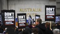 Terminan un día antes primeras audiencias por juicio contra Assange