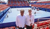 Guerrero, listo para el Abierto Mexicano de Tenis (FOTOS)