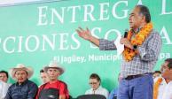 Estoy del lado de la paz y la justicia, dice Astudillo en recorrido por Chilapa