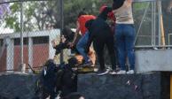 UNAM ordena desalojo de Prepa 5 y acusa violencia extrema en el plantel