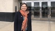 Embajadora Martha Bárcena se queja en Twitter por asiento