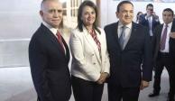 Ministra Ríos-Farjat ofrece autonomía de poderes fácticos