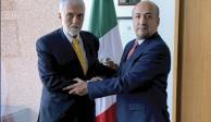 Diplomático con 45 años de carrera va a Bolivia: SRE