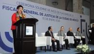Fiscalía CDMX va a transformar la procuración de justicia, afirma Godoy