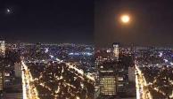 Meteorito surca el cielo de México y lo captan en VIDEO