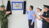 Gobernador de Tamaulipas inaugura segunda etapa del Bachillerato Militarizado Reynosa