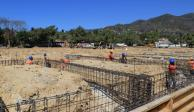 Muestran avances de nuevo estadio de tenis en Acapulco