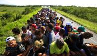 Sale de Honduras nueva caravana migrante rumbo a EU