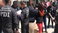 Trasladan a presuntos feminicidas de Fátima a Fiscalía Antisecuestro en CDMX