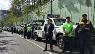 Limitan estacionarse cerca de hospitales durante crisis