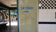 Alumnas de CCH Azcapotzalco se van a paro por compañera navajeada