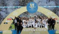 Real Madrid derrota al Atleti y se corona en la Supercopa de España