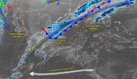 Frente Frío provoca domingo helado en 4 regiones del país