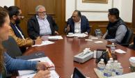 Astudillo y Encinas abordan estrategia de pacificación en Chilapa