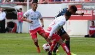 Necaxa y San Luis dividen unidades en el Estadio Victoria