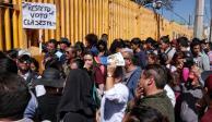 Alumnos de Prepa 9 acuerdan dialogar con paristas para liberar el plantel