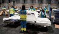 España registra 514 muertos por COVID-19; supera 2 mil defunciones