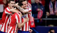 Atlético de Madrid consigue el triunfo desde el minuto 4 ante el Liverpool