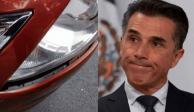 Buscan a Sergio Mayer por chocar y no pagar los daños (FOTOS)