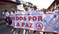 Pide CNDH medidas de protección para la Caminata por la Paz