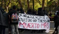 estudiantes, UNAM, CCH, Azcapotzalco, muerte, almno, marcha, insurgentes, rectoria, alumnos, manifestantes