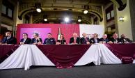 Empresarios respaldan a AMLO y aceptan comprar 'cachitos' para rifa