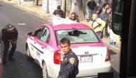 Sujetos en motocicleta ejecutan a dos personas en Iztapalapa
