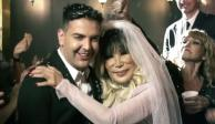 """Lyn May """"se casa"""" con su novio 30 años menor que ella (VIDEO)"""