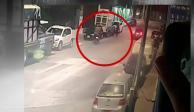 A tiros, ejecutan a hombre en Copilco a unos metros de Grupo Imagen