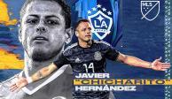 La presentación del 'Chicharito' Hernández con el Galaxy