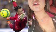 Policías agreden a portero de Pumas, Alfredo Saldívar, y a su esposa (VIDEO)