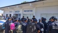 Fuerzas federales toman seguridad de José Azueta, en Veracruz