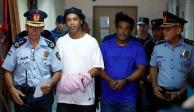 Jueza de Paraguay decreta prisión preventiva para Ronaldinho