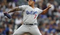 Julio Urías será el cuarto abridor de los Dodgers de Los Ángeles