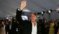 Brad Pitt celebra el pase de los Chiefs en alfombra roja de los Sag Awards