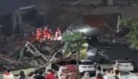 Se desploma en China hotel habilitado para cuarentena por Covid-19