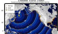 Cancelan alerta de tsunami para Hawái tras fuerte terremoto en Rusia