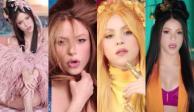 "Con exóticos looks, Shakira estrena video ""Me gusta"" con Anuel AA"